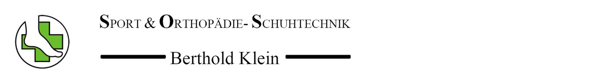 Sport & Orthopädie- Schuhtechnik Berthold Klein